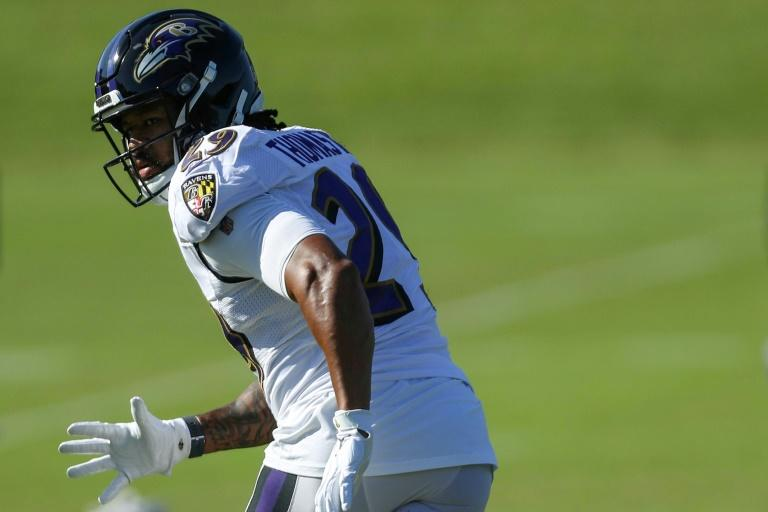 NFL Ravens release Thomas after practice scuffle