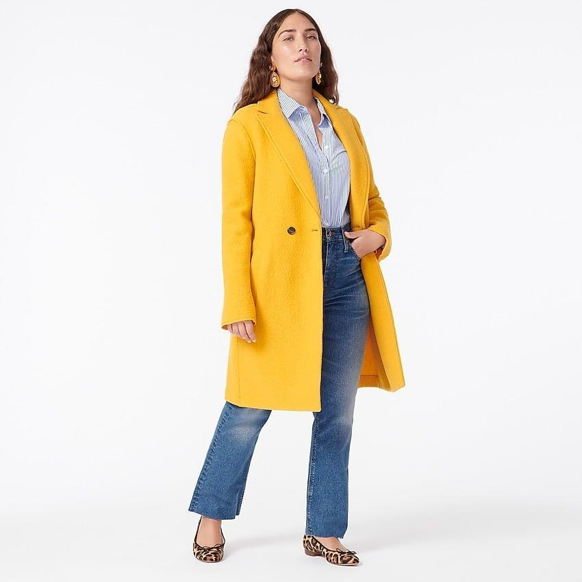 <p>Made from a supercozy boiled wool, this <span>Daphne Topcoat</span> ($183) will keep you snug as the temperature starts to dip.</p>