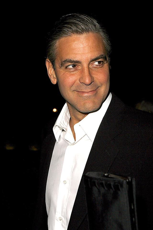 "Total Clooney. Jeff Vespa/<a href=""http://www.wireimage.com"" target=""new"">WireImage.com</a> - February 25, 2007"