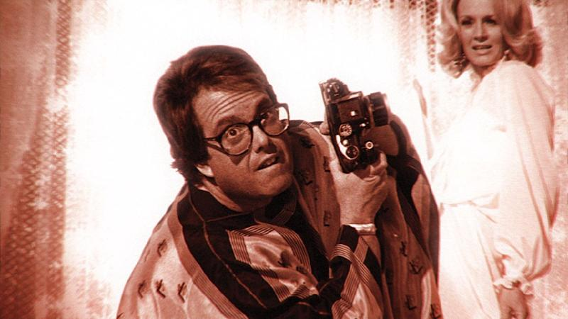 Allan Carr, pictured in an undated photo, was a mogul and bon viveur who hosted debauched soirees where the cocaine, free champagne and even freer love attracted a galaxy of stars