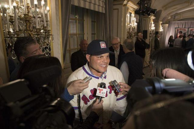 """Ivan """"Pudge"""" Rodriguez will be enshrined in Cooperstown on Sunday. (AP)"""
