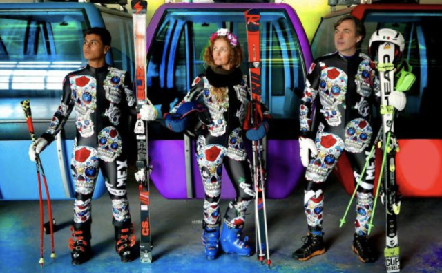 Mexico's skiiers will stand out on the slopes