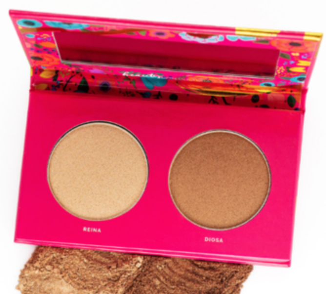 """<h3>Vive Cosmetics</h3><br>As beauty lovers, Joanna Rosario and Leslie Valdivia never felt like they saw themselves in the products they were purchasing, and so they came together to create Vive Cosmetics, a brand that's centered around """"Beauty <em>con</em> <em>cultura</em>"""" (Beauty with culture).<br><br>""""I have never felt truly represented by any brand out there. This brand is made by Latina women for our Latinx community,"""" <a href=""""https://vivecosmetics.com/pages/founders"""" rel=""""nofollow noopener"""" target=""""_blank"""" data-ylk=""""slk:says"""" class=""""link rapid-noclick-resp"""">says </a>Rosario on the brand website. Where the Latina influence shines is in the product names, like this highlighter duo with shades Reina and Diosa.<br><br><strong>Vive Cosmetics</strong> Luz & Glow Highlighter Duo, $, available at <a href=""""https://go.skimresources.com/?id=30283X879131&url=https%3A%2F%2Fvivecosmetics.com%2Fcollections%2Fface%2Fproducts%2Fluz-glow"""" rel=""""nofollow noopener"""" target=""""_blank"""" data-ylk=""""slk:Vive Cosmetics"""" class=""""link rapid-noclick-resp"""">Vive Cosmetics</a>"""