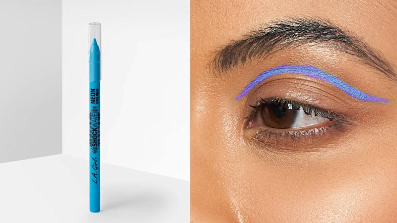 Add some flare to your eye look with the L.A. Girl Shockwave Neon Liner.