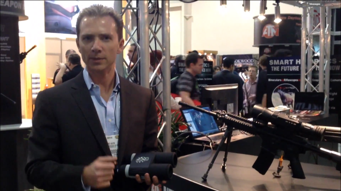 Marc Vayn, CEO of American Technologies Network, at the 2014 SHOT Show in Las Vegas. (Photo: Via YouTube)