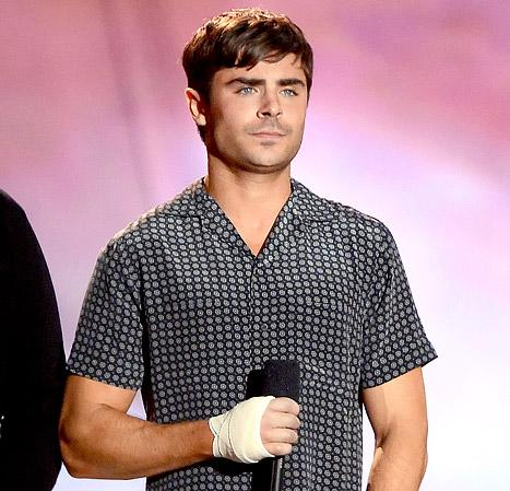 Zac Efron Broke His Hand Before MTV Movie Awards: How It Happened