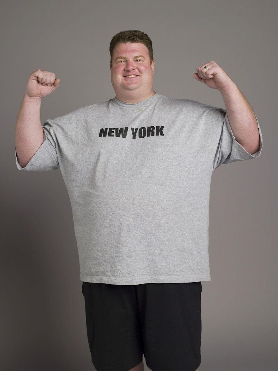 <p>The 35-year-old New Yorker was 407 pounds at the start of the show, making him the largest contestant the show had ever seen at that point. Given his size, many people didn't think he could win.</p>