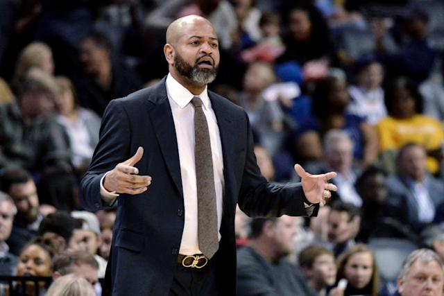 J.B. Bickerstaff could be a good fit for John Beilein's Cavaliers staff. (AP Photo/Brandon Dill)