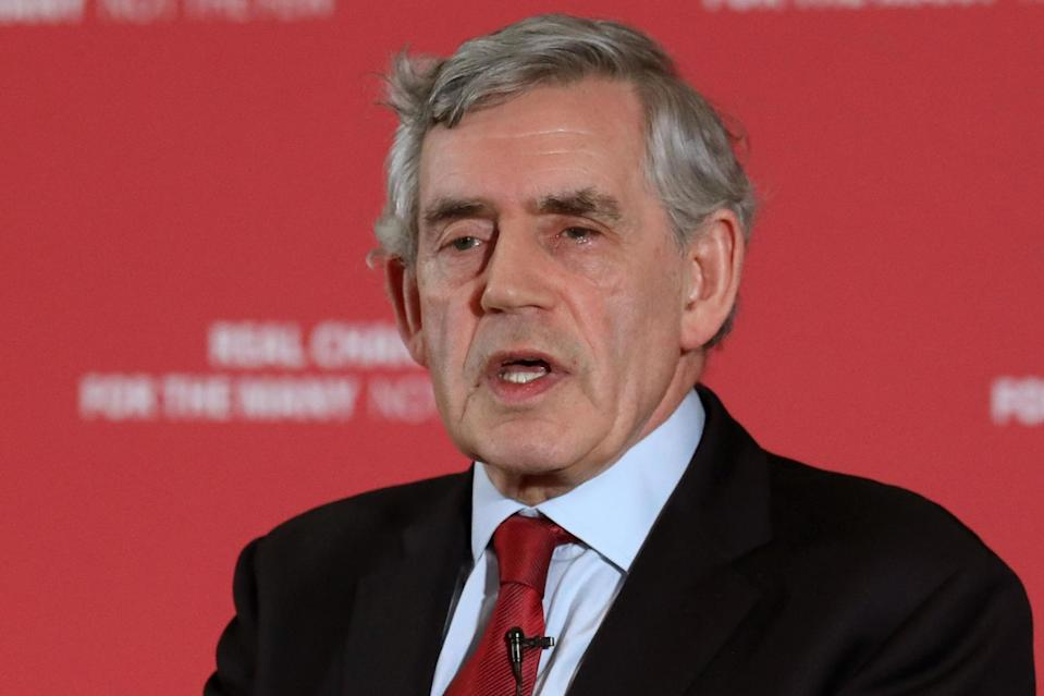 <p>The former Labour prime minister said the choice