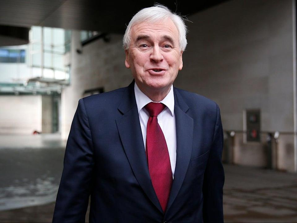 McDonnell backed his Labour colleague entirely, saying she would have been offered a Cabinet position if Labour had won the 2019 election (Getty)