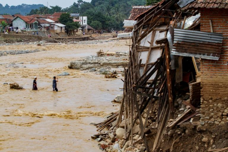The floods and landslides forced the evacuation of nearly 200,000 people
