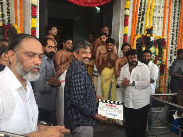 SS Rajamouli at Nandamuri Balakrishna's 101st movie launch