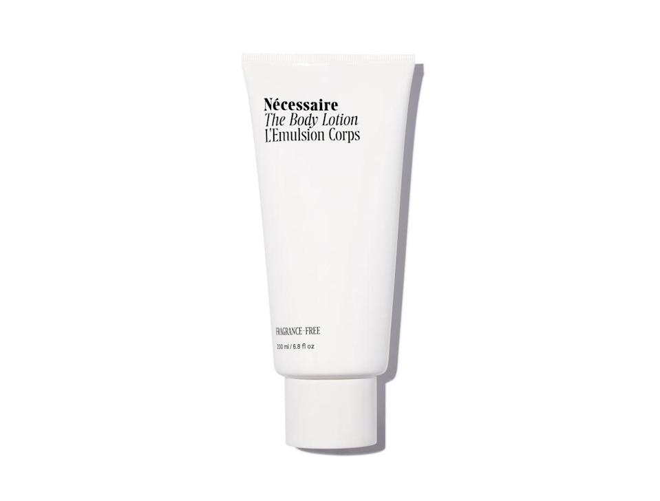 <p>This <span>Nécessaire The Body Lotion</span> ($25) is one of the only lotion's I've ever tried that isn't sticky, so I can put my pajamas on immediately.</p>
