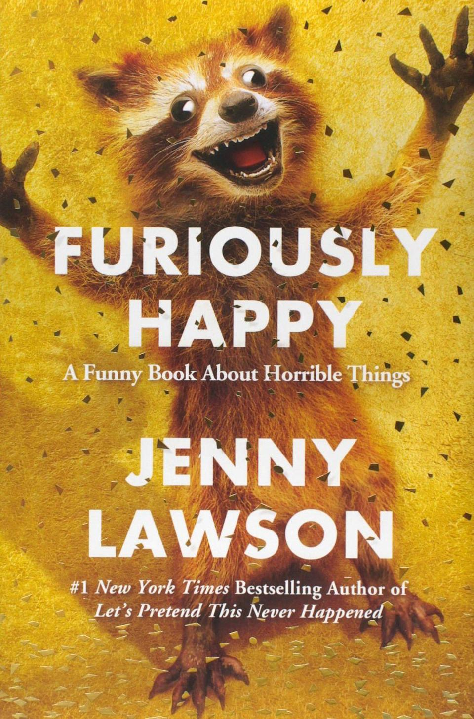 <p><strong><em>Furiously Happy</em></strong></p><p>By Jenny Lawson</p><p><em>New York Times</em> bestselling author Jenny Lawson's latest book is a hilarious memoir that chronicles her lifelong struggle with mental illness. Believe it or not, crippling depression and anxiety can be funny. Reading between the lines, it becomes clear that the book is unequivocally about joy and embracing happiness wherever and whenever we find it. That sounds like something we should all be doing a little more often.</p>