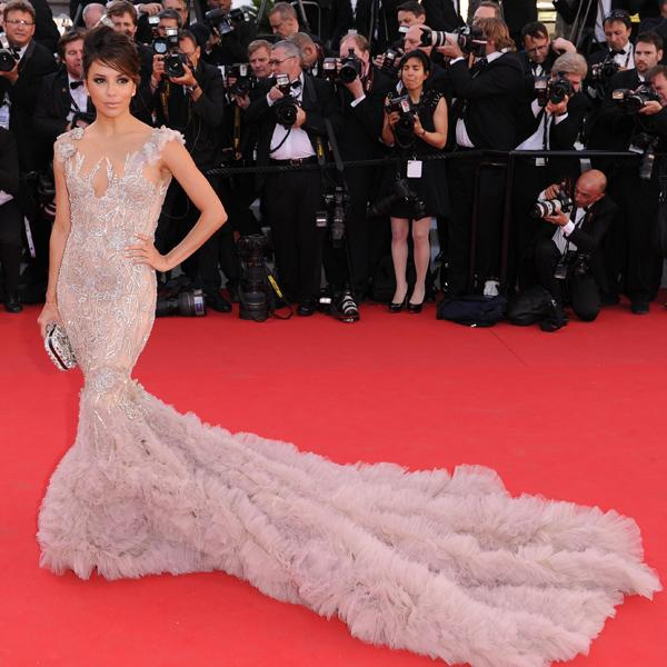 <b>Top 10 Best Fashion Moments Of 2012: </b><br><br>Cannes Film Festival - Eva Longoria <br><br>© Rex