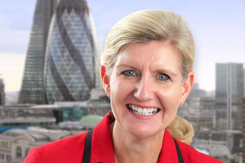 <p>Debbie Hewitt will become the FA's first female chair in January 2022</p> (Handout)