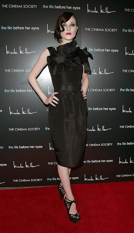"""If Marilyn Manson's goal is to transform his current gal pal, Evan Rachel Wood, into a replica of his former flame, Dita Von Teese, he's doing a very good job. Unfortunately, the talented 20-year-old doesn't seem to mind. Jim Spellman/<a href=""""http://www.wireimage.com"""" target=""""new"""">WireImage.com</a> - April 15, 2008"""