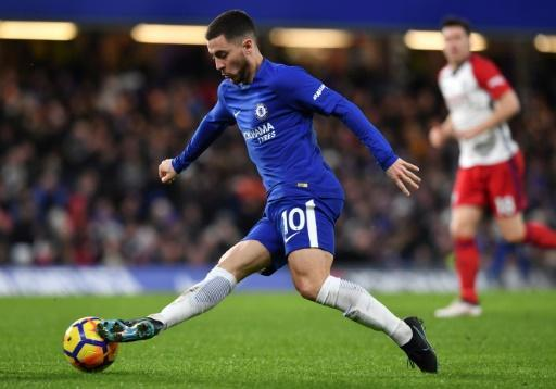 <p>Conte thanks Chelsea fans as Hazard double eases pressure</p>