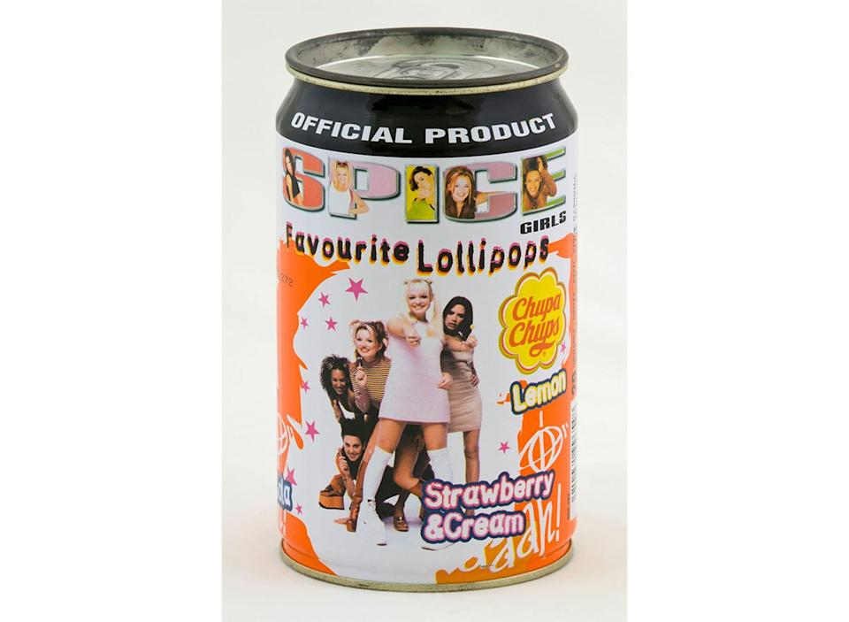 can of spice girls lollipops