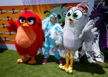 World premiere for the film The Angry Birds Movie 2