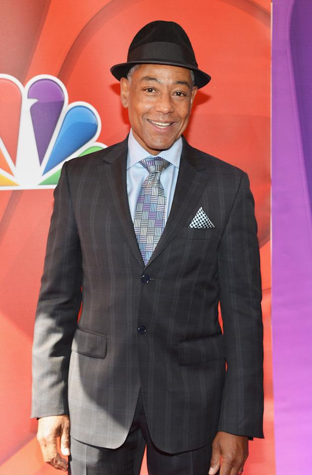 NEW YORK, NY - MAY 13:  Actor Giancarlo Esposito attends 2013 NBC Upfront Presentation Red Carpet Event at Radio City Music Hall on May 13, 2013 in New York City.  (Photo by Slaven Vlasic/Getty Images)