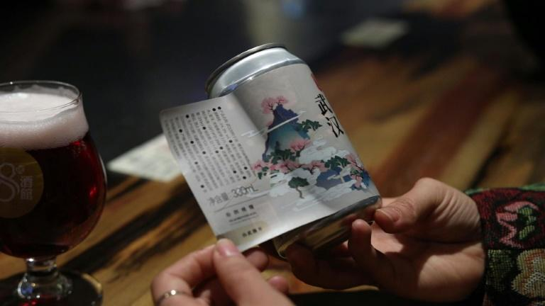 'Wuhan stay strong': city lockdown captured in craft beer