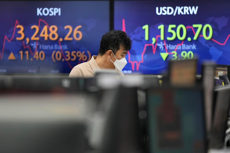 South Korea Financial Markets (Copyright 2021 The Associated Press. All rights reserved.)