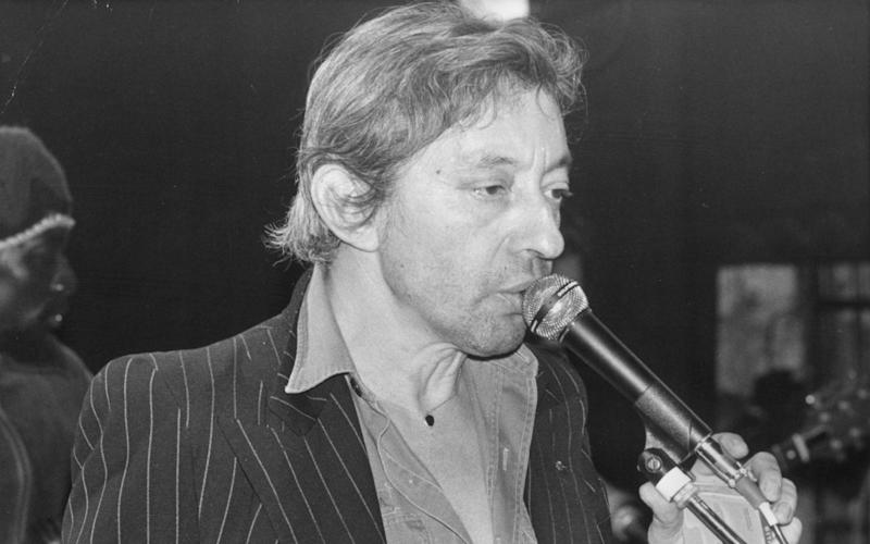 Musician and singer Serge Gainsbourg - Keystone/Getty Images