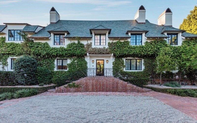 The Beverly Hill mansion bought by Ellen and Portia