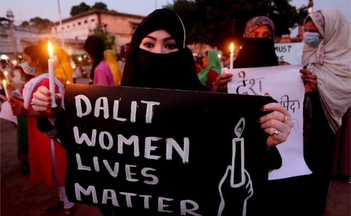 There have been countrywide protests against the rape of the 19-year-old Dalit woman