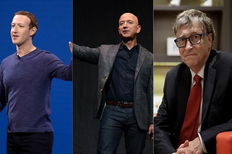 Mark Zuckerberg, Jeff Bezos, Bill Gates Really 'Self-Made'? This Viral Twitter Thread Debunks the Myths