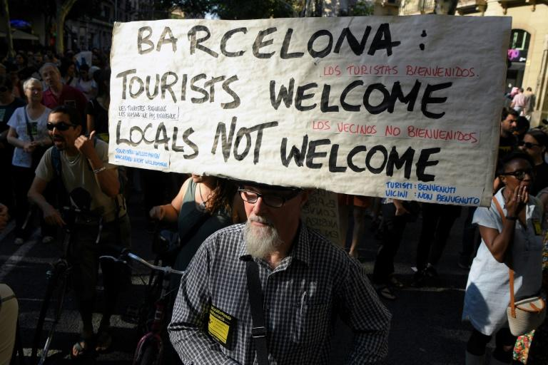 Locals in many parts of the world are angry at the rising costs and congestion that comes with hordes of tourists