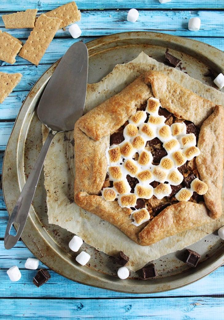 "<p>Like a pie but more rustic (and with peanut butter!), this <a href=""http://portandfin.com/peanut-butter-smores-galette/"" class=""link rapid-noclick-resp"" rel=""nofollow noopener"" target=""_blank"" data-ylk=""slk:irresistible galette"">irresistible galette</a> is a must-try recipe.</p>"