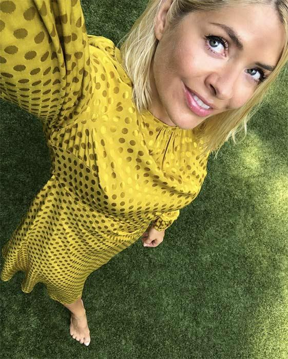 737f31d2 Holly Willoughby's new Marks & Spencer dress is going to be THE ...