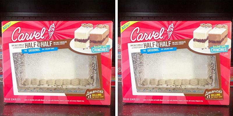 Magnificent Carvels New Half Half Ice Cream Cake Will Give You An All Funny Birthday Cards Online Elaedamsfinfo