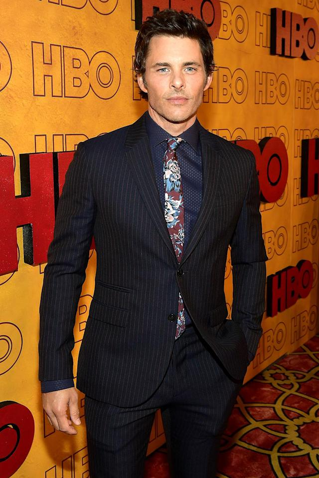 <p>James Marsden at HBO's Post Emmy Awards Reception at the Plaza at the Pacific Design Center. (Photo: Matt Winkelmeyer/Getty Images) </p>