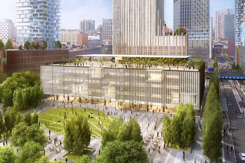 Philadelphia offered Amazon available office space in its HQ2 bid. (Photo: Pilly.com)