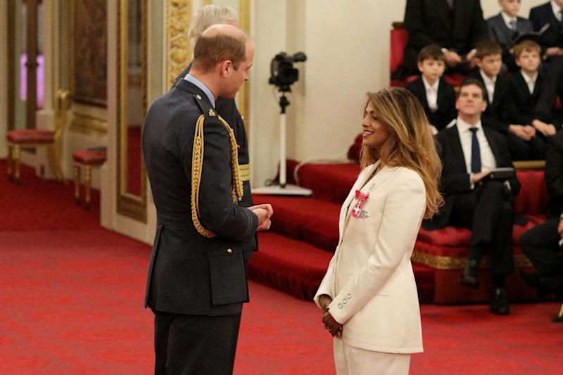 Rapper and singer MIA - real name Mathangi Arulpragasam is made an MBE (PA)
