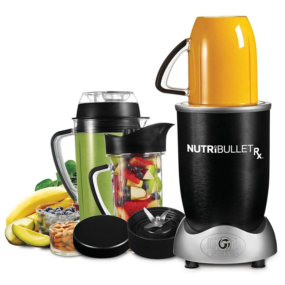 Nutribullet 2.3 Hp Rx Blender Black. Image via Walmart.