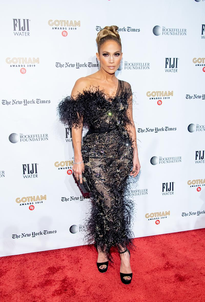 Lopez at the 2019 IFP Gotham Awards.