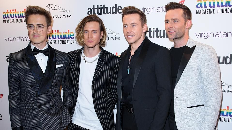 McFly were one of the bands who lived alongside Girls Aloud in the luxury development