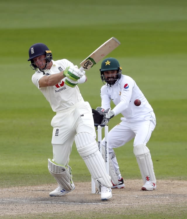 England v Pakistan – First Test – Day Four – Old Trafford