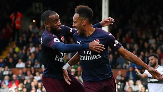 """Unai Emery says Arsenal are """"working on"""" contract extensions for two key attackers."""