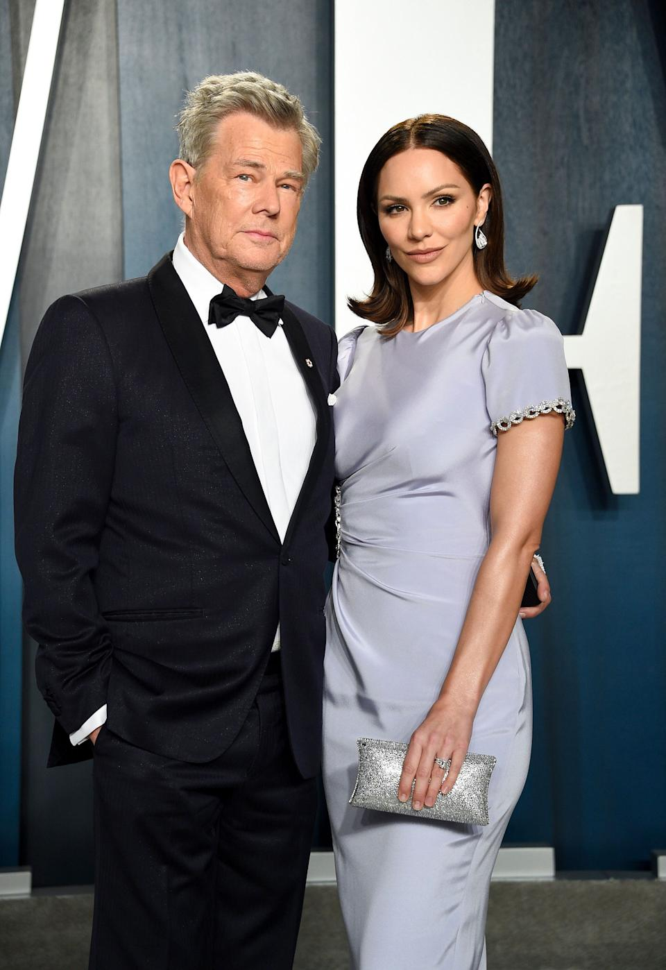 David Foster and Katharine McPhee pictured together at the Vanity Fair Oscar Party earlier this year. (Photo: Evan Agostini/Invision/AP)