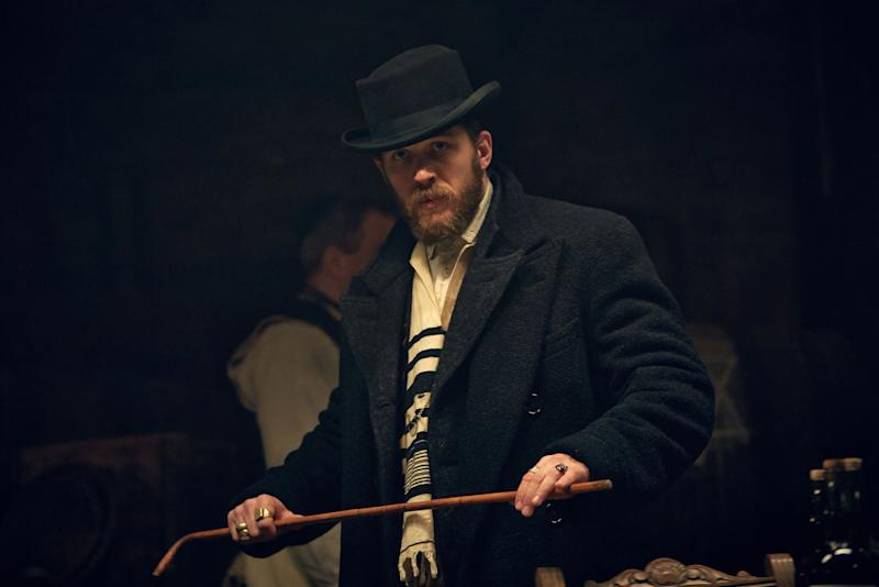 Tom Hardy as Alfie Solomons in Peaky Blinders episode 5: BBC