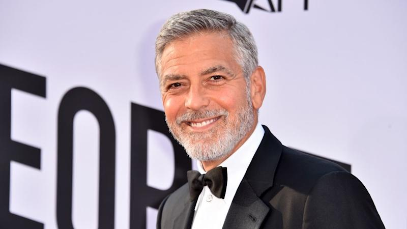 George Clooney Walks Unassisted Just Five Days After Terrifying Scooter Crash -- Pic