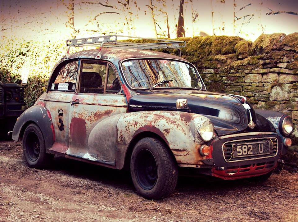 NOT an abandoned Morris Minor 1000