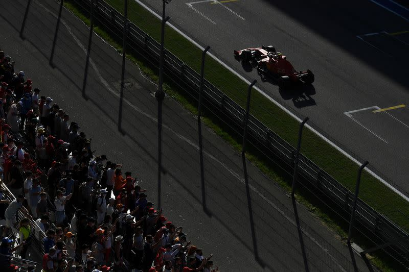 F1 says COVID positives show protocols are working