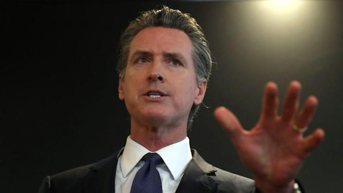 Other legislation California Gov. Gavin Newsom signed requires better tracking of how diseases affect the LGBT community by public health officers, bans life and disability insurance companies from denying someone coverage solely because they have HIV. (Photo by Justin Sullivan/Getty Images)