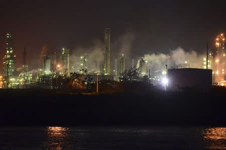 A petrochemical plant of state-owned petroleum giant Pemex is seen in Coatzacoalcos June 19, 2014. REUTERS/Oscar Martinez